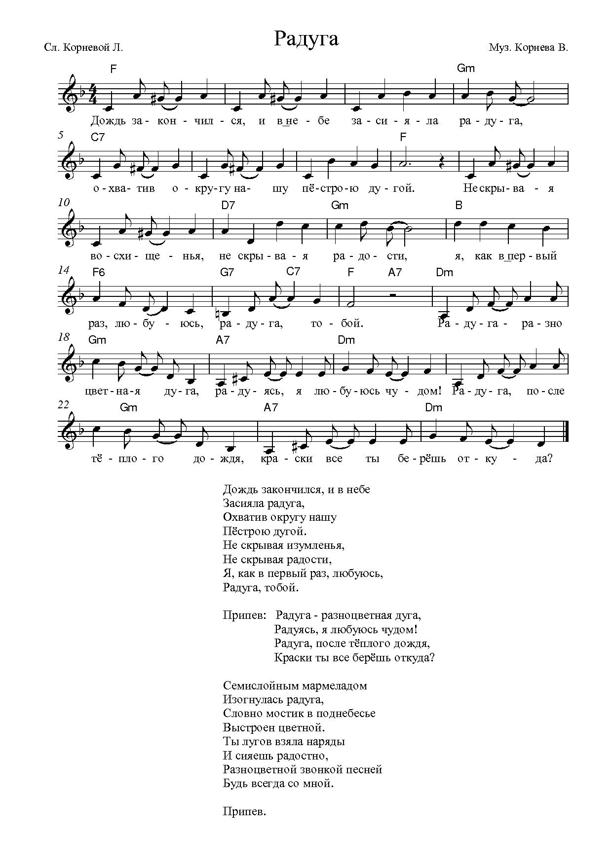 Музыка виктора анатольевича корнева