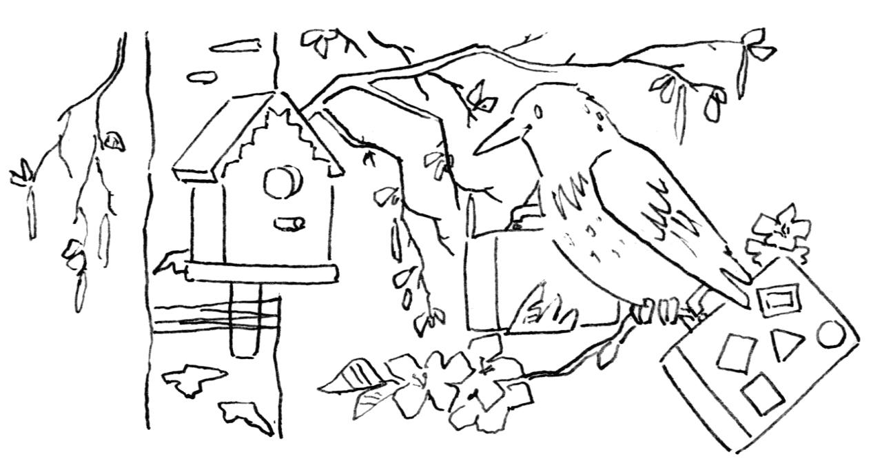 Онлайн раскраска обезьянка